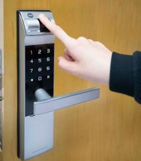 handle pintu finger print merk yale
