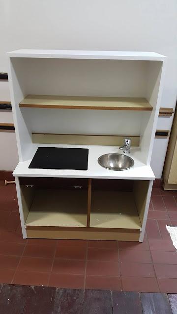 dziecięca kuchnia - kolejny etap