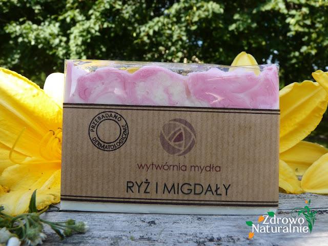 Wytwórnia Mydła -  Mydło RYŻ i MIGDAŁY