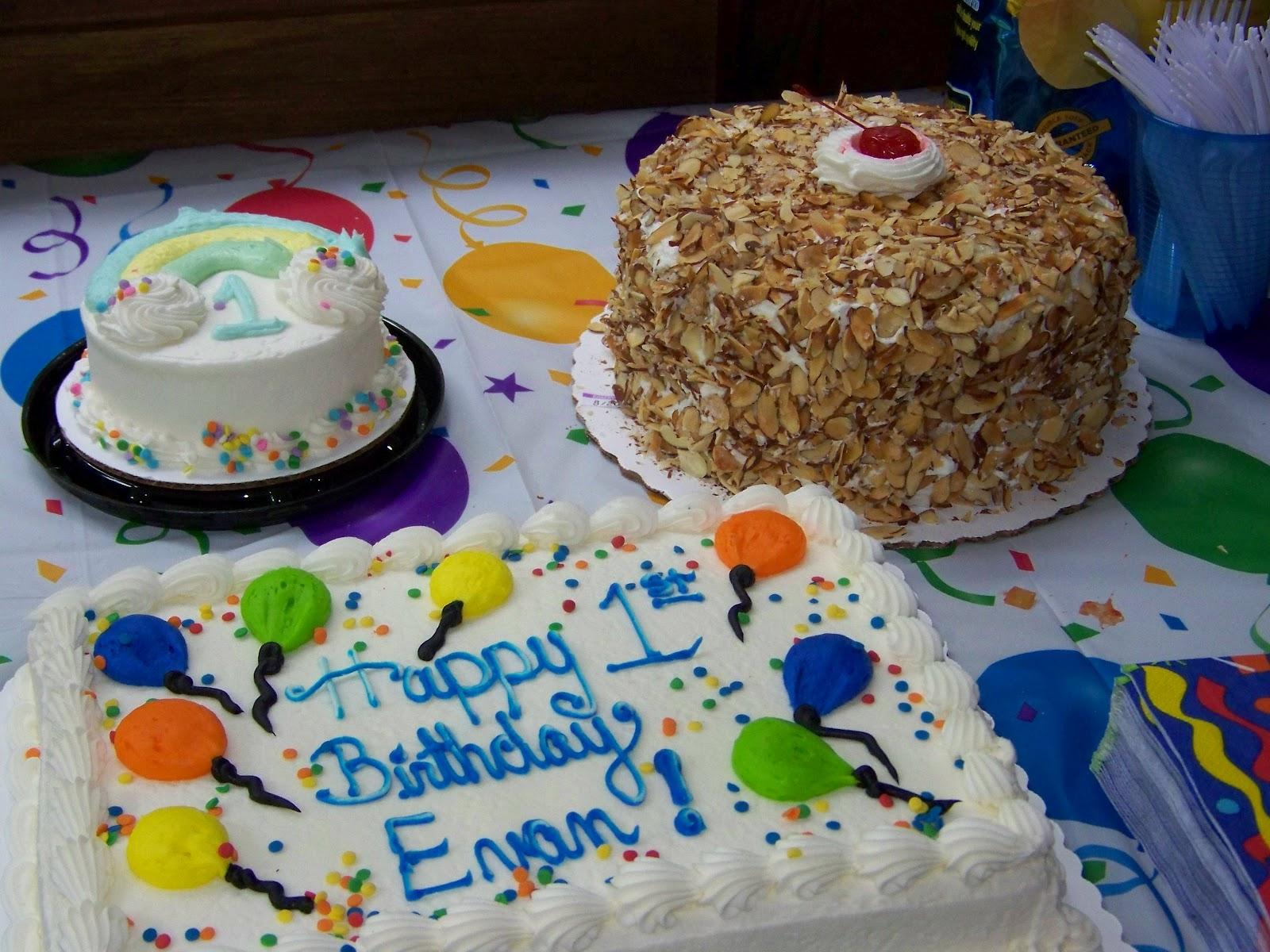 The New Hartman The First Birthday Cake