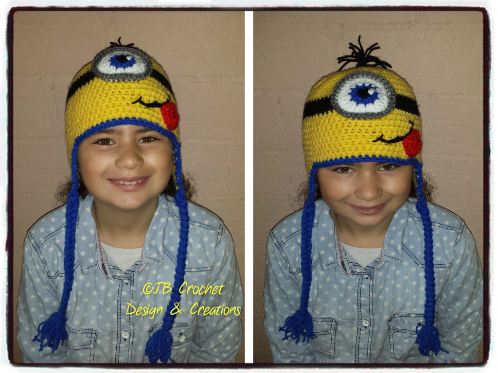 Jb Crochet Design Creations Gehaakte Minion Muts