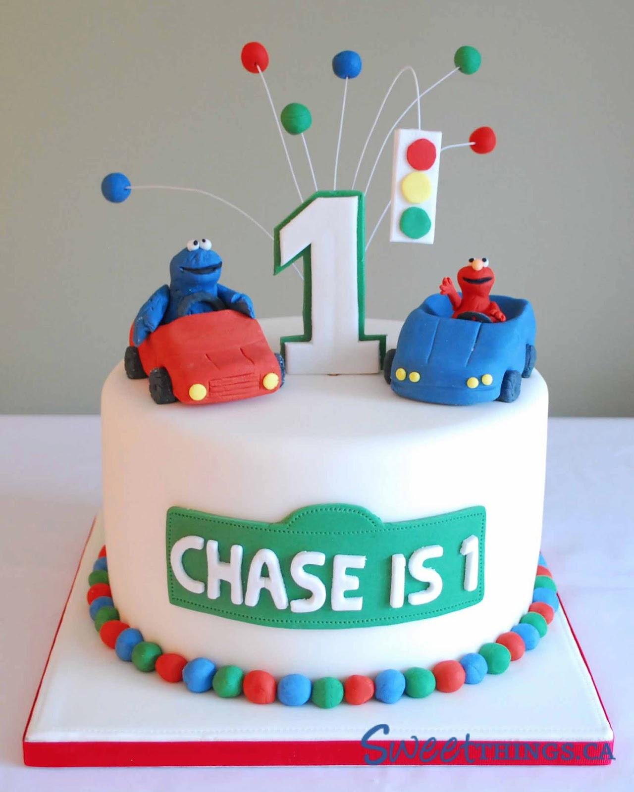 Cake Designs For St Birthday Boy