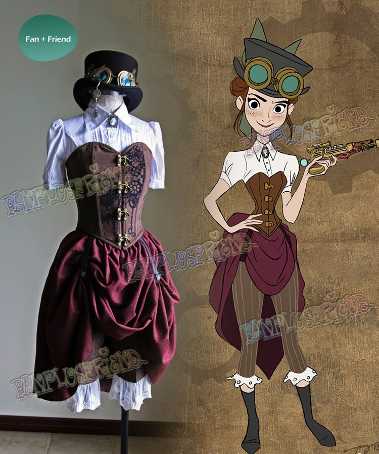 Steampunk Disney Costumes Welcome to Fanplusfrie...