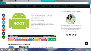 sharebar on your website ready on arcreationsweb.com