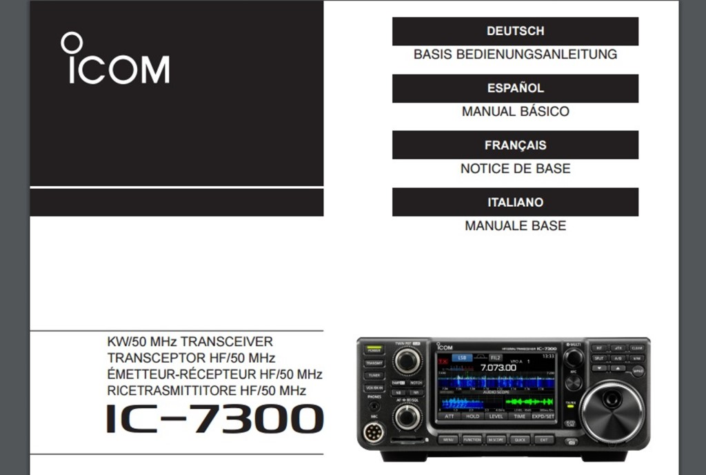 Antons Funkperlen Ic 7300 Auf Ebay