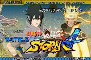 Naruto Senki Mod Overproject v1 by Rio Apk