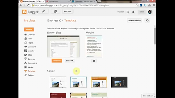 How to Make Your Blogger Template seo Friendly