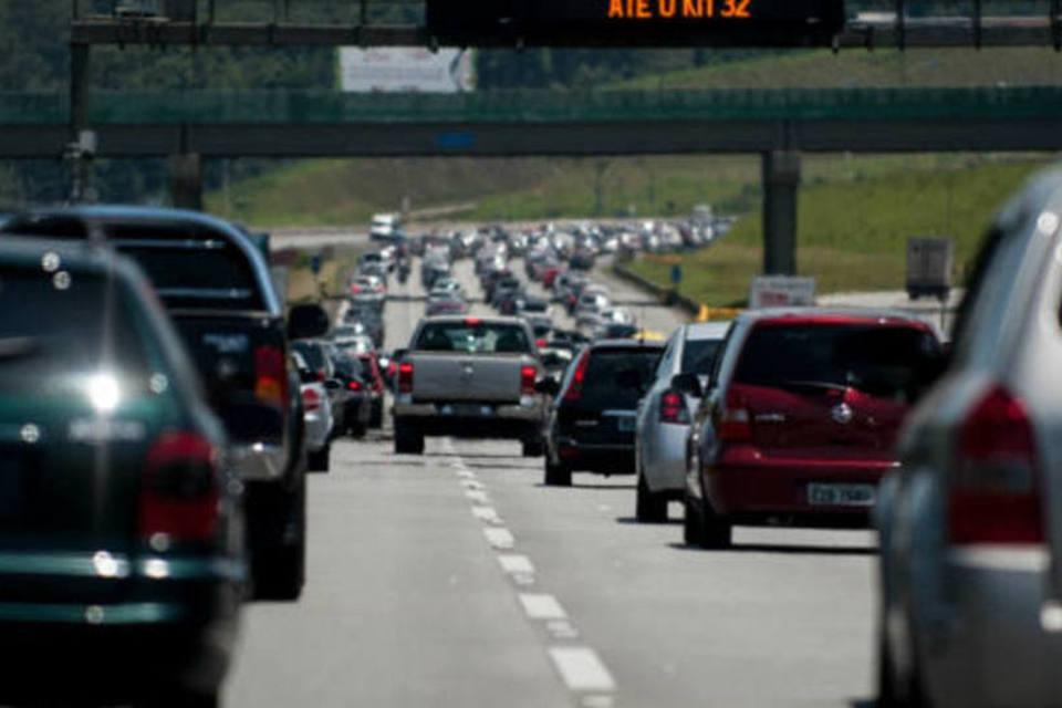 Feriado deve movimentar 2,8 milhões de veículos nas principais rodovias estaduais