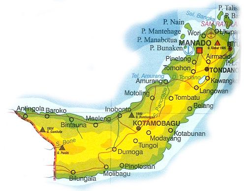Kode Telepon Sulawesi Utara   Daftar Nomor Telepon, Alamat ...