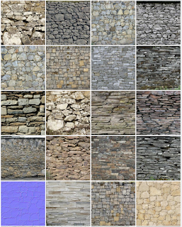 Bộ stone texture mapping chất lượng cao 3Dsmax Vray