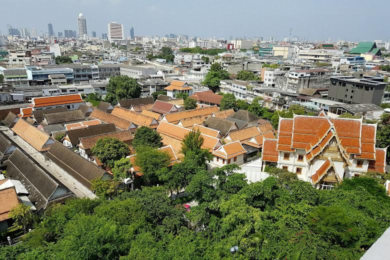 金山寺遠望曼谷市區