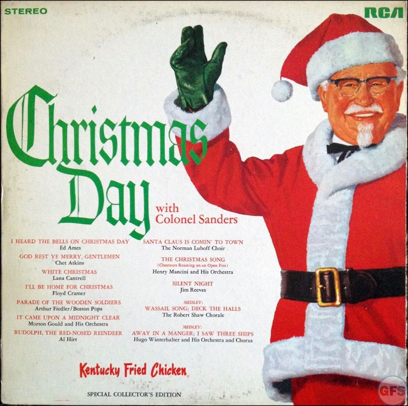 16 Bizarre Classic Christmas Album Covers Vintage Everyday