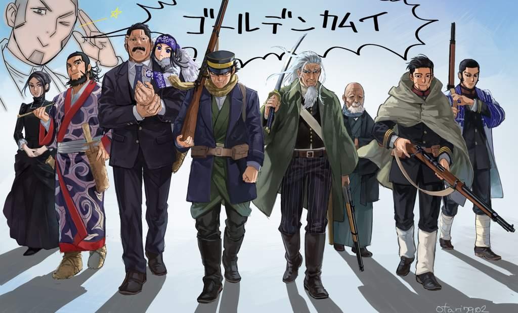 Download Anime Dragon Crisis Golden Kamuy Season 2 (Episode 1 - 6) Subtitle Indonesia X265