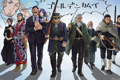 Download Anime Dragon Crisis Golden Kamuy Season 2 (Episode 1 - 6) Subtitle Indonesia X265