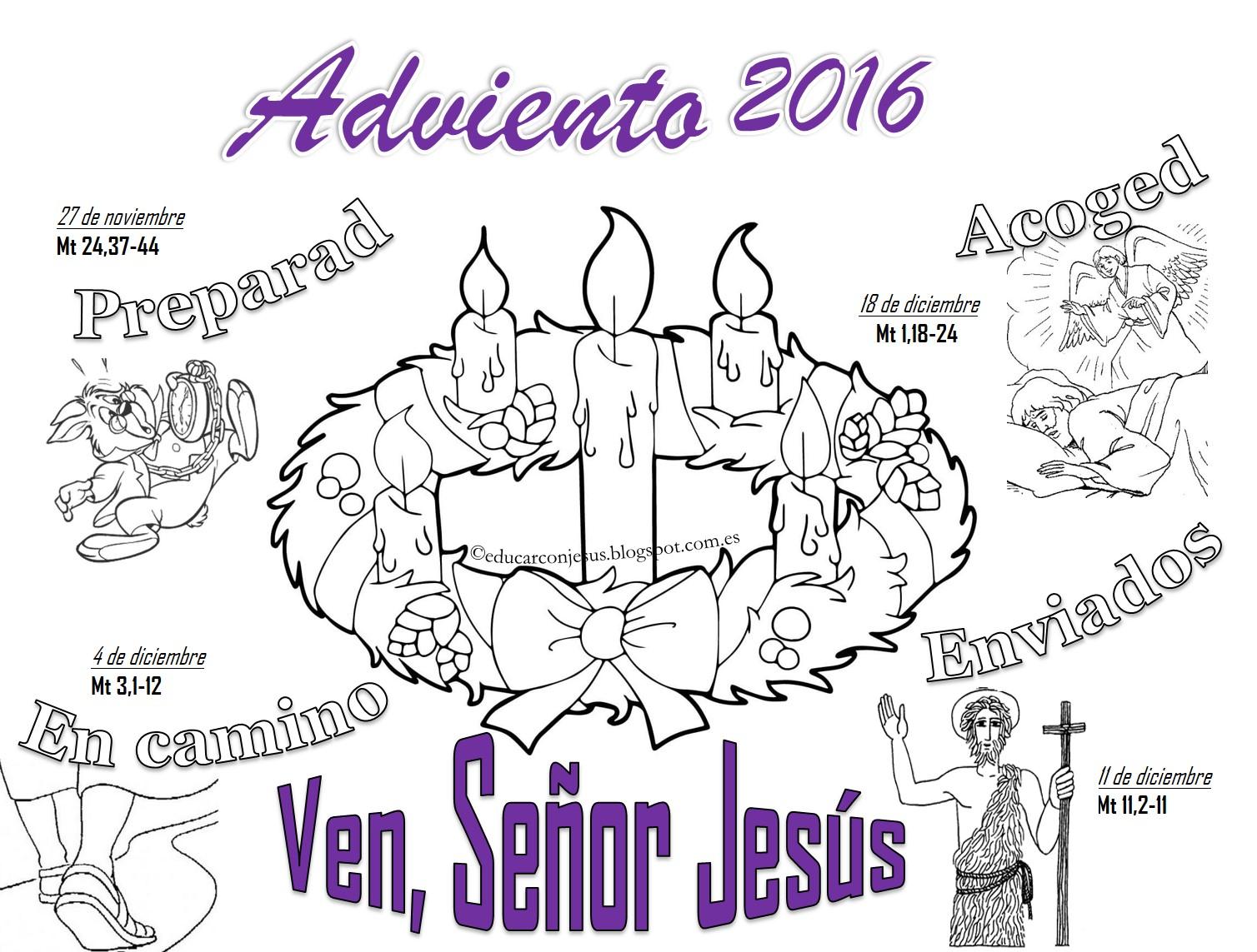 La Catequesis (El blog de Sandra): Calendarios de Adviento ...