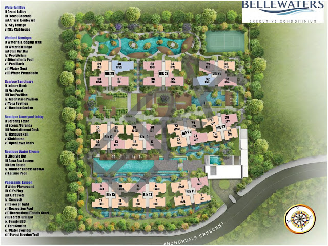 Bellewaters EC @ Anchorvale Crescent Site Plan