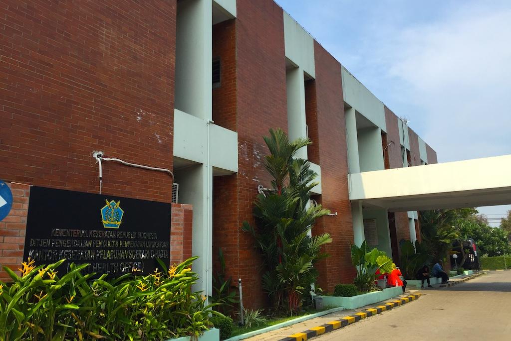 Kantor Kesehatan Pelabuhan KKP Soekarno Hatta Jakarta
