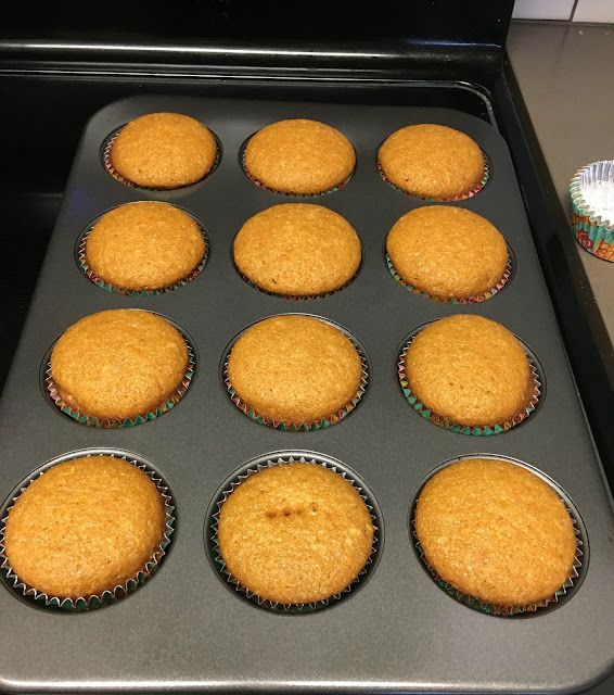 I made these Carrot Cake Cupcakes last Easter! They are soo good! Very moist & the texture is great, no stringy carrot pieces!