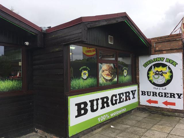 Burgery Zielony Byk Chill & Grill, Mikołów