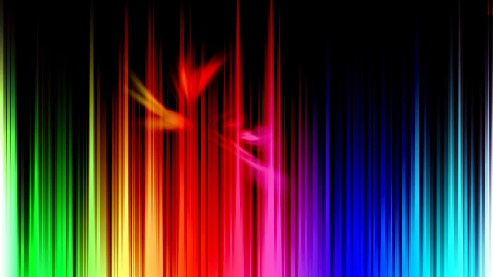 abstract rainbow background wallpaper black - photo #8