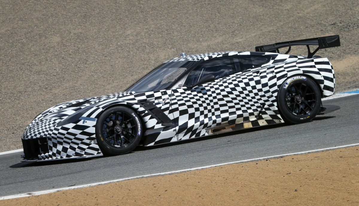 Vette Vues Magazine   Corvette Racing C7.R made this appearance ...