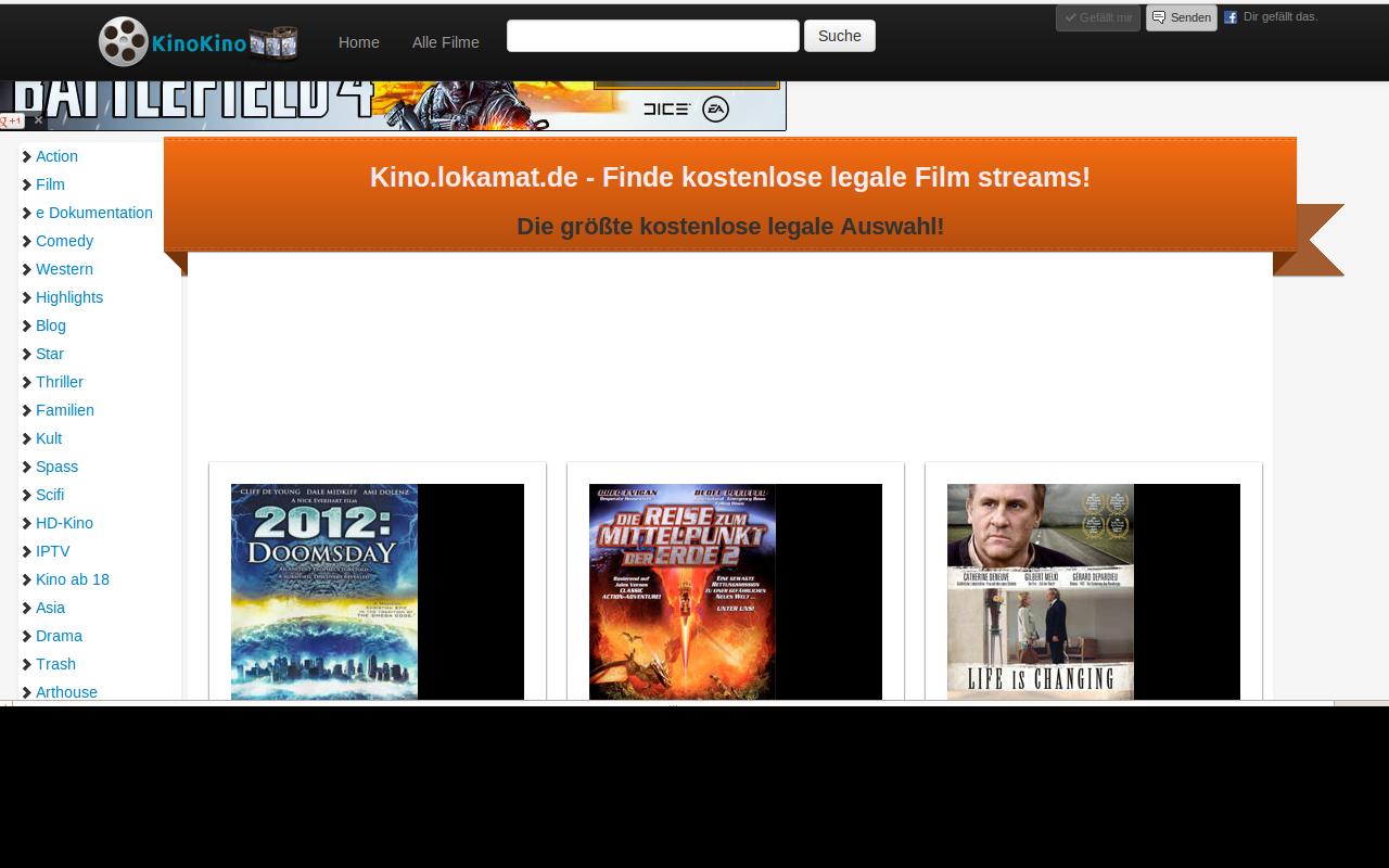 Kostenlose Stream Filme