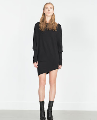 Zara Oversize Asymmetric Sweater