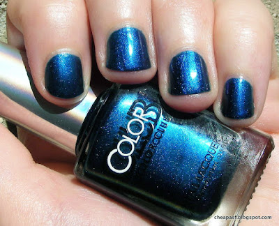 Swatch of Color Club Oil Slick collection: It's Raining Men