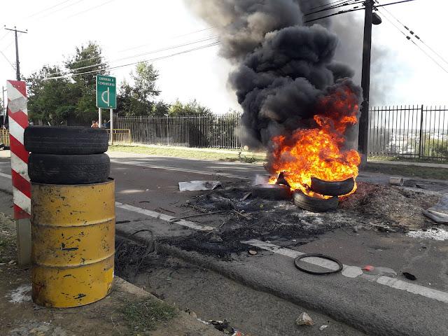 Carabineros se refiere a violentos incidentes en Osorno