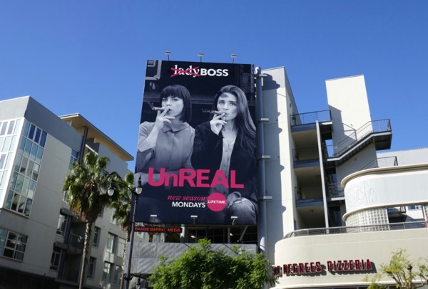 UnREAL season 3 boss billboard