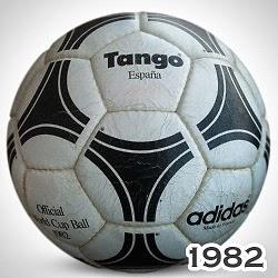 Balón Mundial España 1982 tango españa