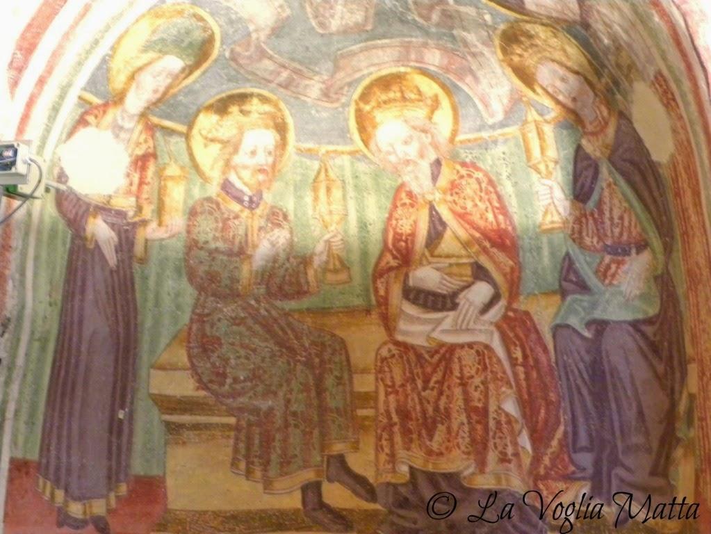 Hrastovlje Slovenia chiesa della SS Trinità affreschi