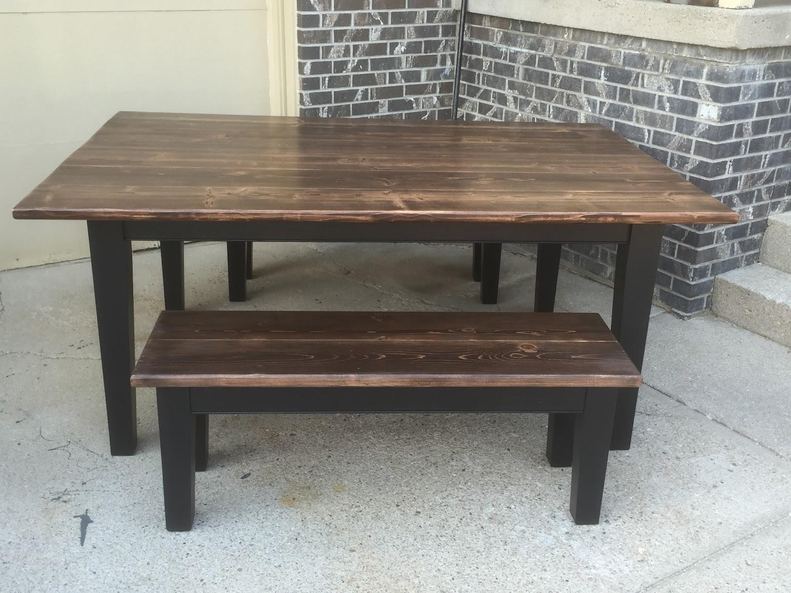 Frontier carpenter farmhouse table for 65 farmhouse table