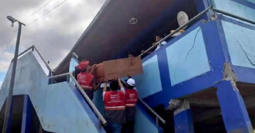 MINEDU suspendió clases en 511 colegios para evaluar daños tras el sismo en Loreto - www.minedu.gob.pe