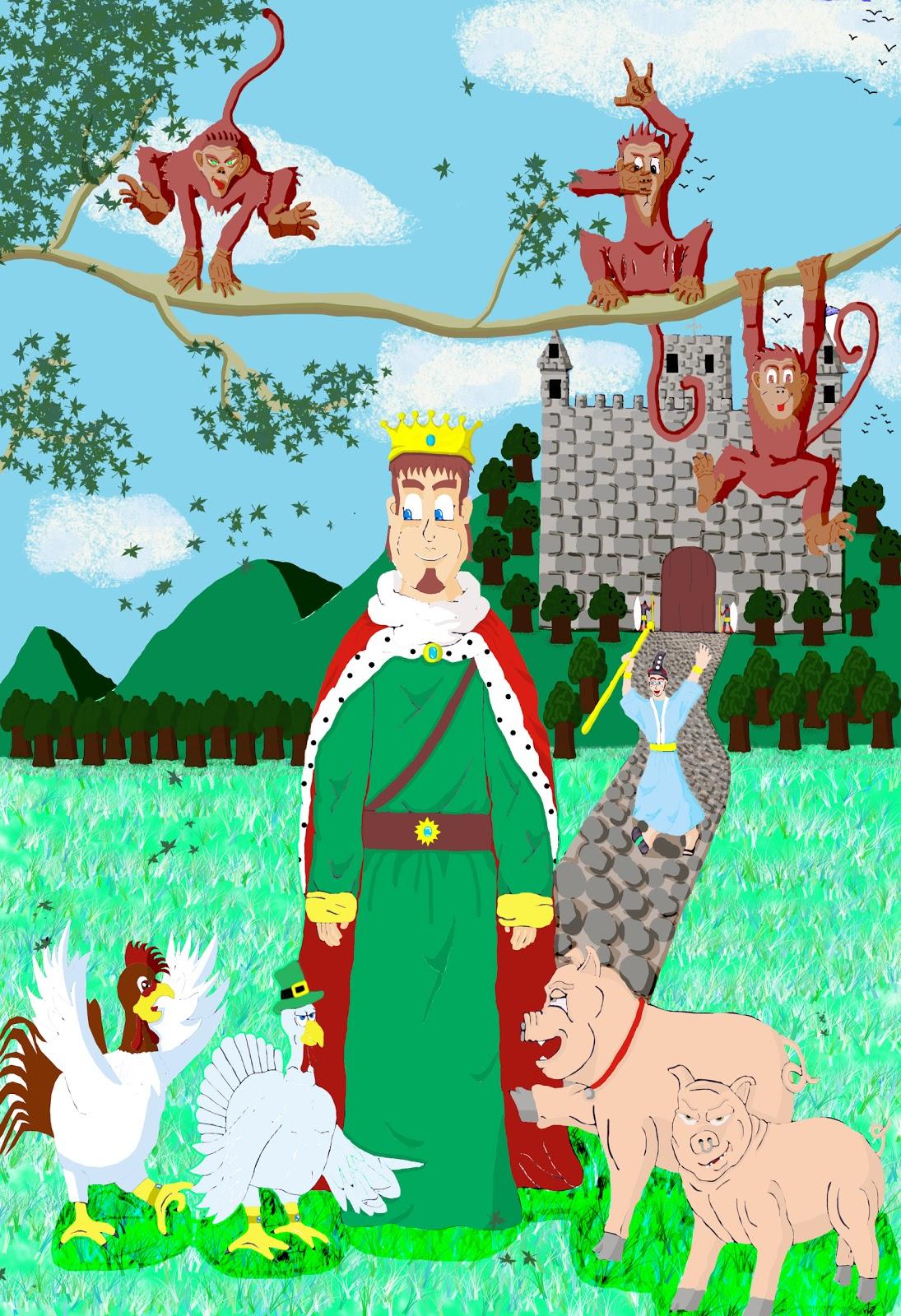 Historietas El Rey Y La Granja En Busca De La Cena Navideña