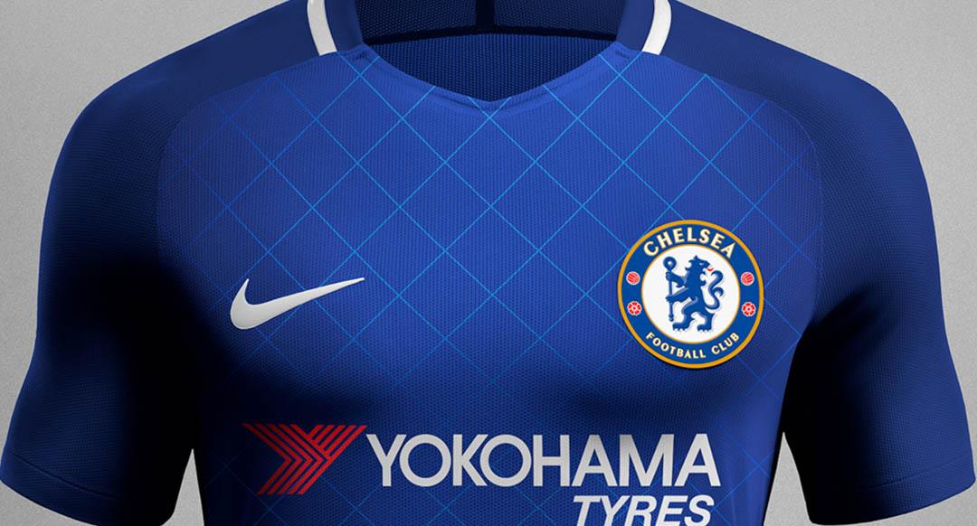 Einzigartige Nike Chelsea 17 18 Konzepttrikots Enthüllt Nur Fussball