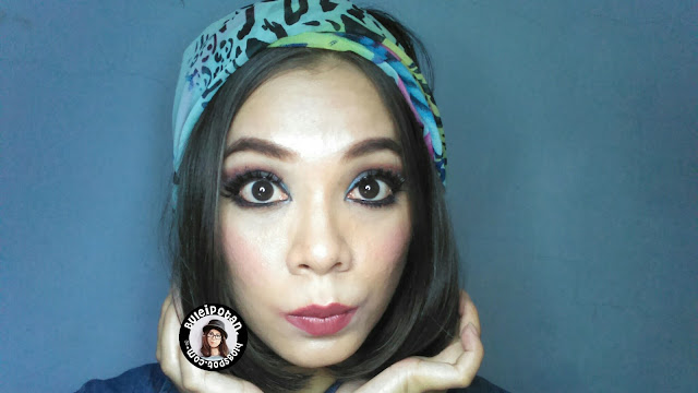 MOTD : Stary Night Makeup for Night Hangout/ Hallowen