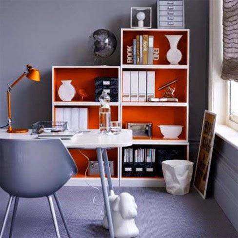 diseño oficina gris
