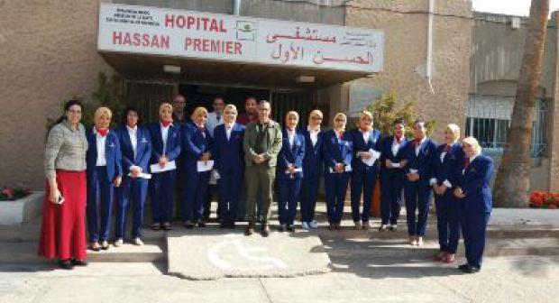 سابقة بجهة سوس ماسة: توظيف مضيفات لاستقبال المرضى بالمستشفى و توجيه ذويهم…