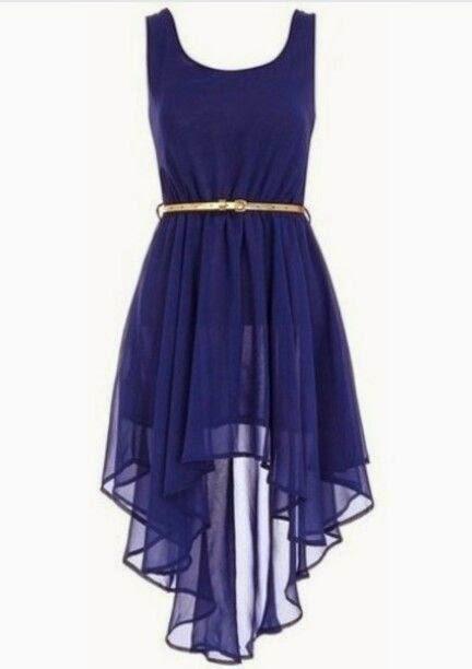 Siempre Guapa Vestido Azul Rey De Cola Casual