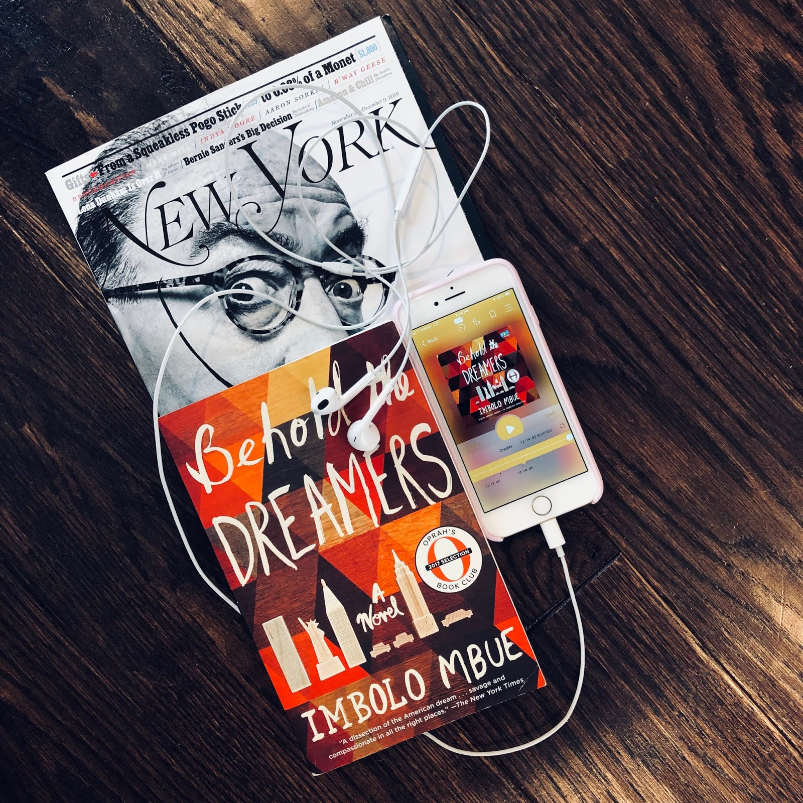 Executive Privilege Audiobook: TRENDY SIMPLE LIFE: Behold The Dreamers By Imbolo Mbue