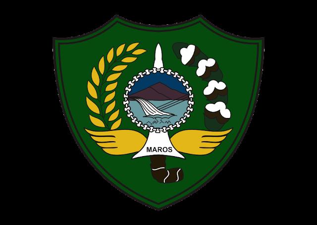 Logo Kabupaten Maros Vector CDR CorelDraw HD PNG