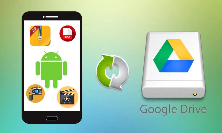 Cara Upload/Backup File ke Google Drive di Android