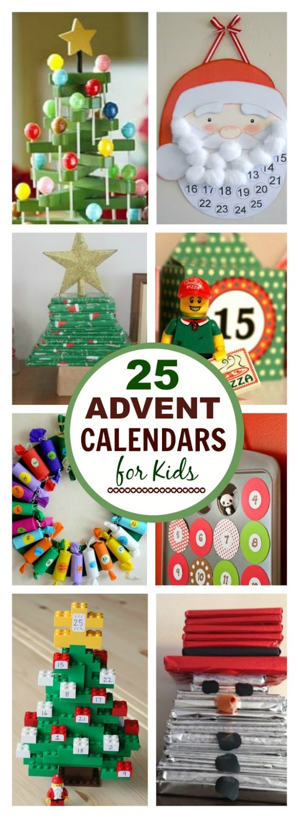 Diy Childrens Advent Calendar : Christmas advent calendars for kids growing a jeweled rose