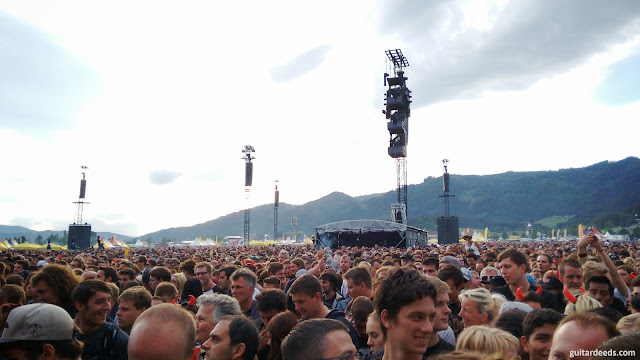 AC/DC Zeltweg Spielberg 2015 größtes Konzert in Österreich