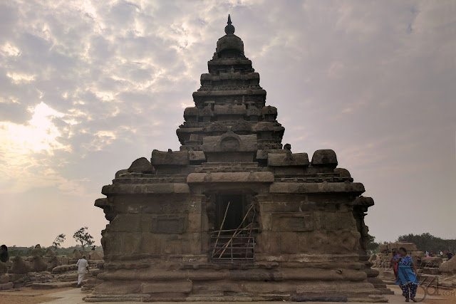 This shore temple has stood the test of times