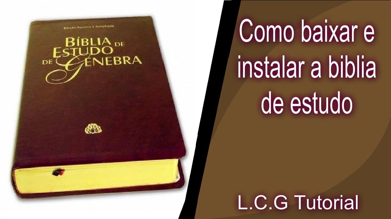 Baixar Bíblia De Estudo Pentecostal