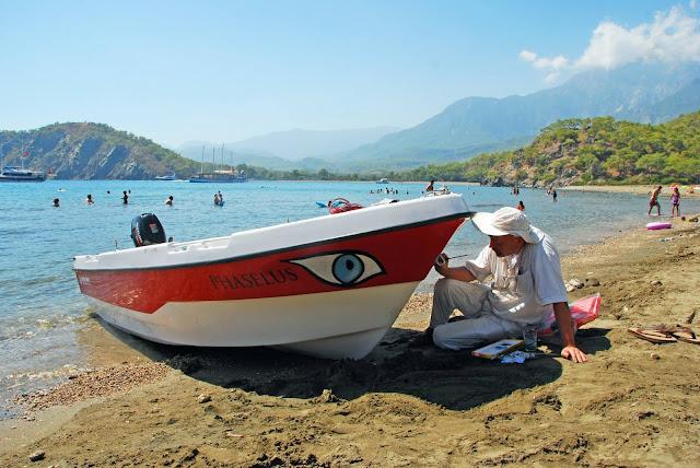 جولات سياحية في انطاليا, جولة سياحية رقم 4 جولة مغامرة غرب انطاليا في كيمير, استئجار سيارة مع سائق في انطاليا,
