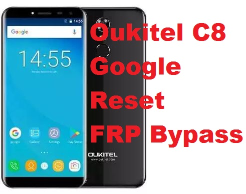 Oukitel C8 (Nougant 7.0)  google account reset and FRP bypass