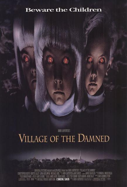Village of the Damned 1995 horror movie poster John Carpenter